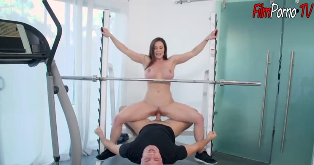 Kendra Lust fucked hard at gym by Keiran Lee