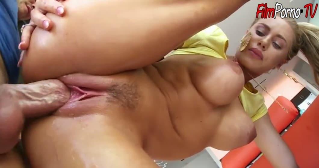 Beautiful big boobs blonde fucked hard with fat dick