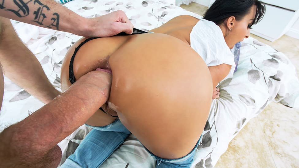 Big booty Holly Halston Fucked hard ass hole by big dick Danny D