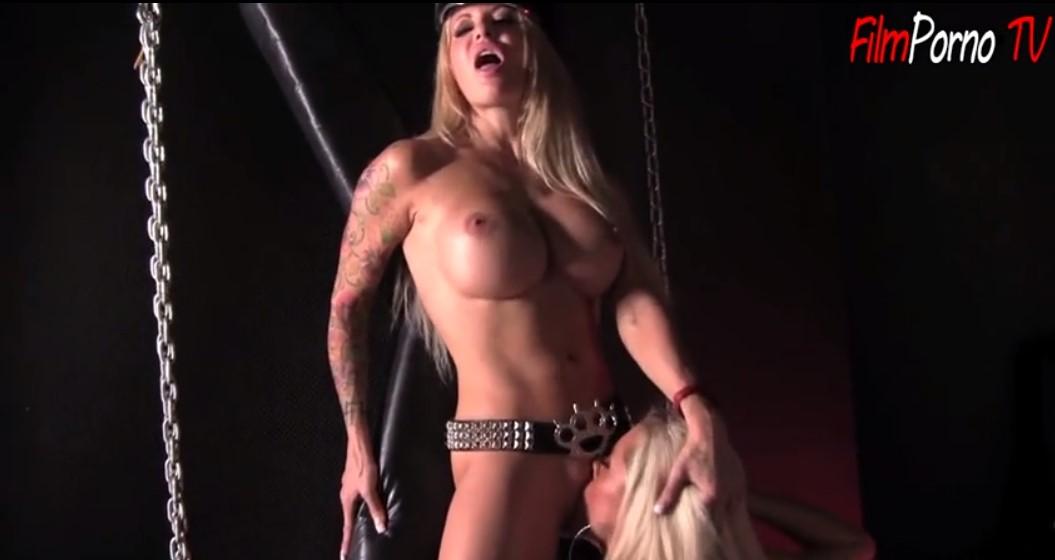 Lesbian sluts latex dresses making fantasy sex