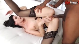 Small tits skinny mature hot ass hole fucked hard by BBC