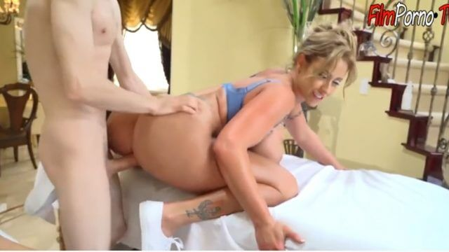 Young man jordi seduced the mature massage woman fucked