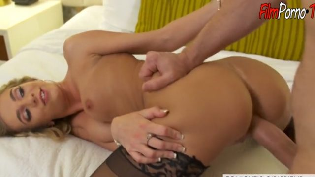 21 yearold blonde babe Tiffany Watson fucked hard by big dick old man