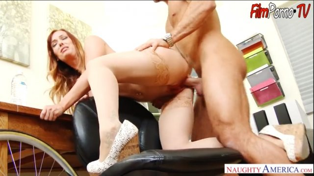 Tired husband hot blowjob from work & hard fucking