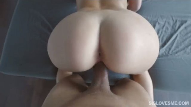 My stepsister Naiomi Mae loves sucking my big thick dick