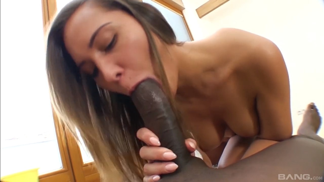 Sexy bitch Naomi Bennet loving hard fucking with BBC cleaner