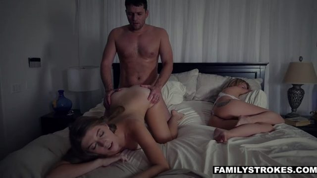 I fucked my stepdaughter while my wife was sleeping